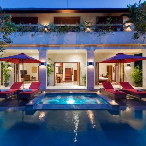 Villa Kalimaya IV - Villa from Pool - Seminyak, Bali
