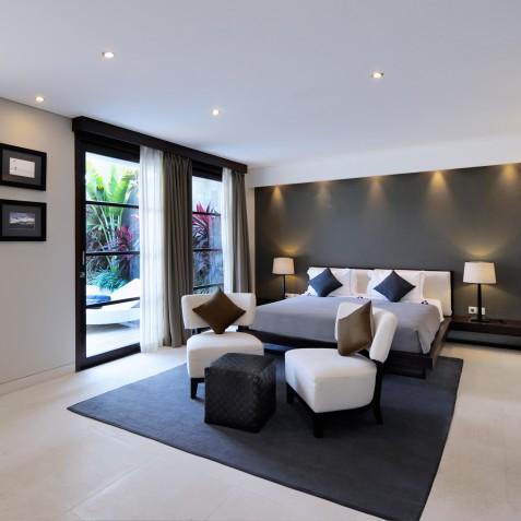 The Layar - 1 Bedroom Villa - Bedroom - Seminyak, Bali
