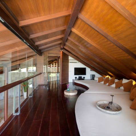 The Layar - 4 Bedroom Villa - Upstairs Lounge - Seminyak, Bali
