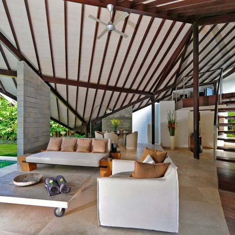The Layar - 2 Bedroom Villa - Living Area - Seminyak, Bali