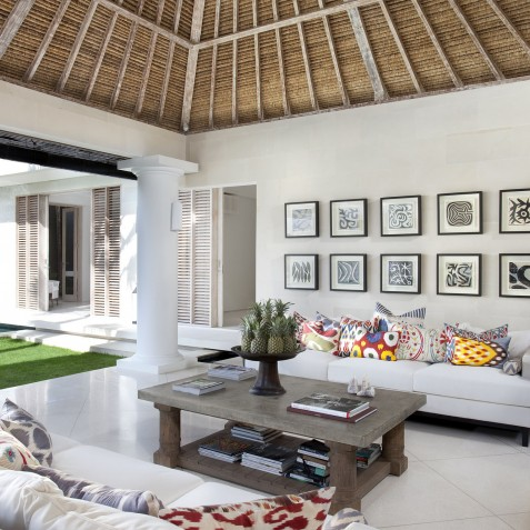 Villa Adasa - Living Area - Seminyak, Bali