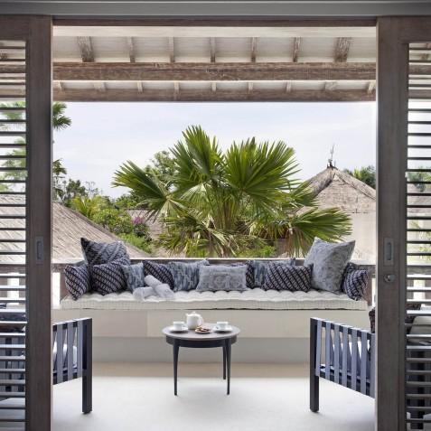 Villa Adasa - Master Bedroom Balcony - Seminyak, Bali
