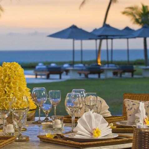 Villa Atas Ombak Bali - Alfresco Dining - Seminyak, Bali