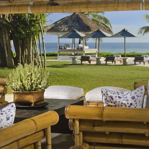 Villa Atas Ombak Bali - View from Living Pavilion - Seminyak, Bali