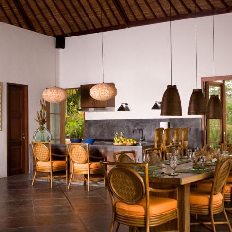Villa Bayad Bali - Dining and Kitchen - Ubud, Bali