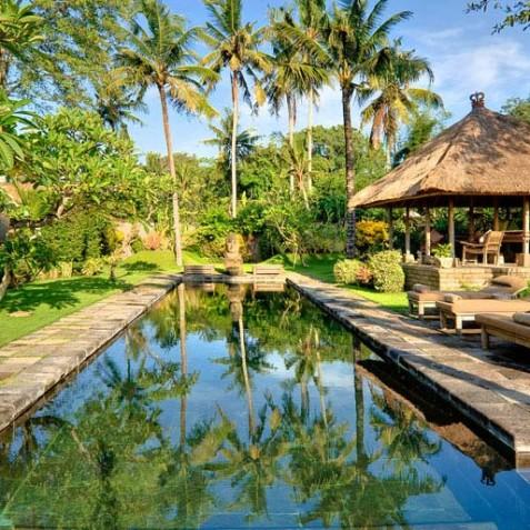 Villa Belong Dua - Seseh-Tanah Lot, Bali - Afternoon by Pool