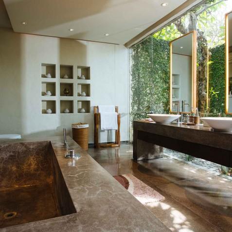 Villa Belong Dua - Seseh-Tanah Lot, Bali - Ensuite Bathroom