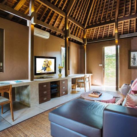 Villa Belong Dua - Seseh-Tanah Lot, Bali - Media Room