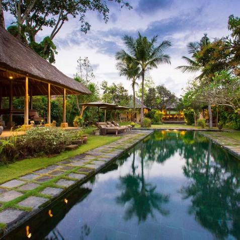 Villa Belong Dua - Seseh-Tanah Lot, Bali - At Dusk