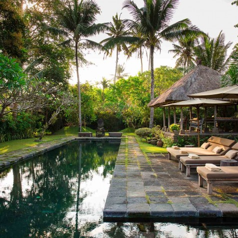 Villa Belong Dua - Seseh-Tanah Lot, Bali - Poolside