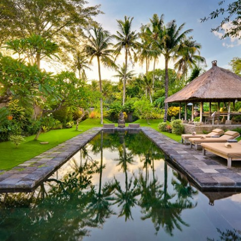 Villa Belong Dua - Seseh-Tanah Lot, Bali - Pool in Afternoon