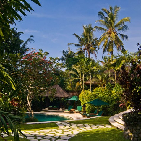 Villa Bougainvillea Bali - Gardens and Pool - Canggu, Bali