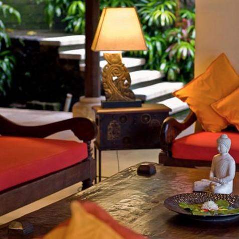 Villa Bougainvillea Bali - Lounge Detail - Canggu, Bali