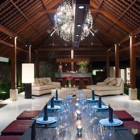 Villa Bunga Pangi Bali - Dining Area and Bar - Canggu, Bali