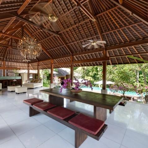 Villa Bunga Pangi Bali - Open Plan Living Area - Canggu, Bali