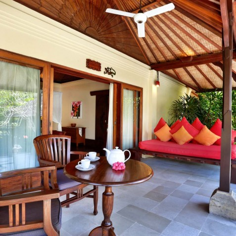 Villa Bunga Wangi Bali - Frangipani Suite Terrace - Canggu, Bali