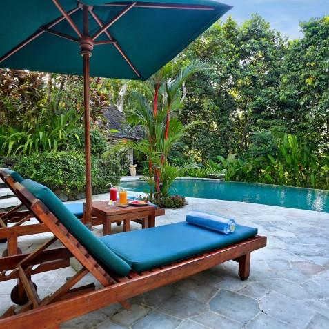 Villa Bunga Wangi Bali - Pool Deck - Canggu, Bali