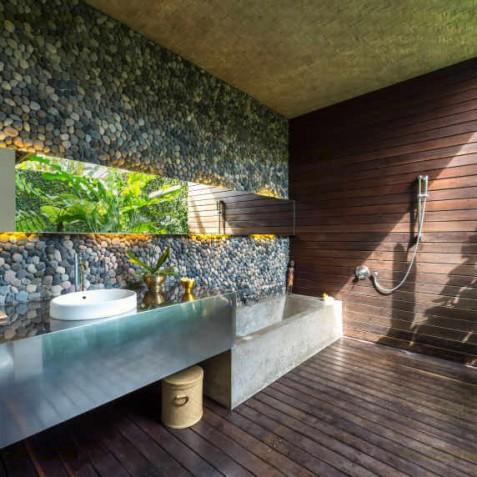 Villa Coco Groove Bali - Guest Bedroom Two Ensuite Bathroom - Seminyak, Bali