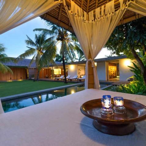 Villa Coco Groove Bali - Sunset from Bale - Seminyak, Bali