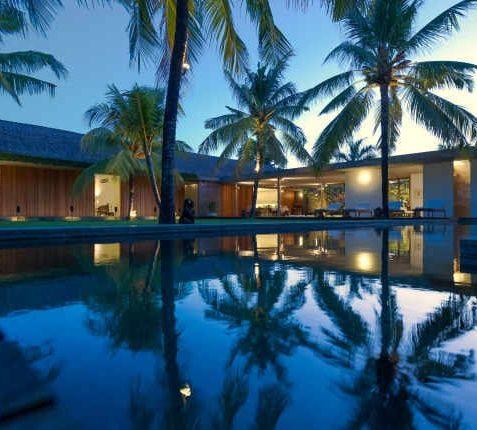 Villa Coco Groove Bali - Sunset over Pool - Seminyak, Bali