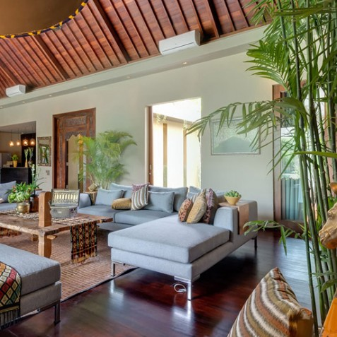 Villa Eshara I - Living Area - Seminyak, Bali