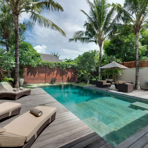 Villa Eshara I - Pool Deck - Seminyak, Bali