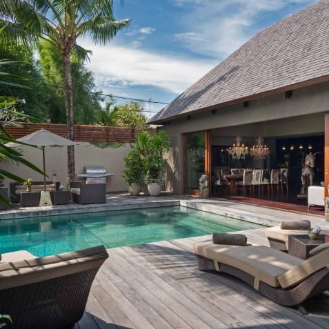 Villa Eshara I - Sundeck and Outdoor Dining - Seminyak, Bali