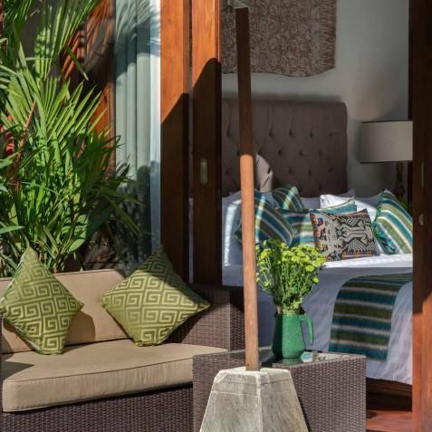 Villa Eshara II - Master Bedroom Sitting Area - Seminyak, Bali