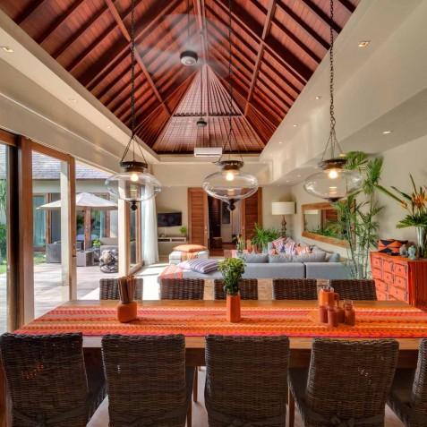 Villa Eshara III - Dining Area - Seminyak, Bali