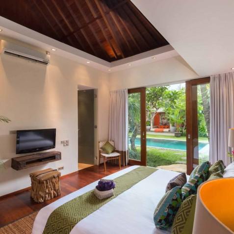 Villa Eshara III - Guest Bedroom Two - Seminyak, Bali