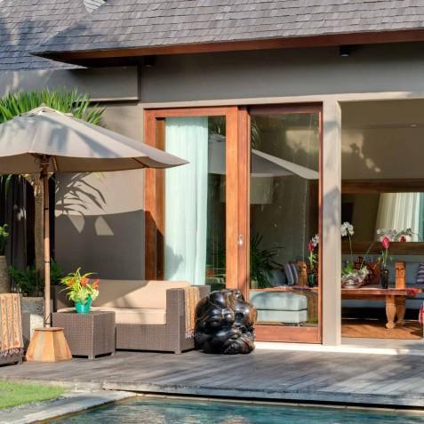 Villa Eshara III - Indoor & Outdoor Living Areas - Seminyak, Bali