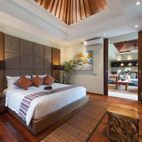 Villa Eshara III - Master Bedroom - Seminyak, Bali