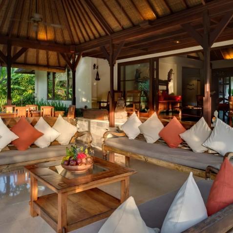 Villa Frangipani Bali - Open Air Living Area - Canggu, Bali