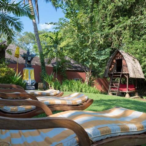 Villa Frangipani Bali - Riverside Garden - Canggu, Bali