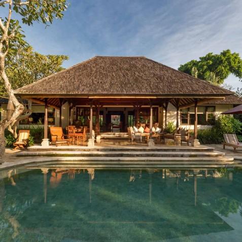 Villa Frangipani Bali - View from Pool - Canggu, Bali