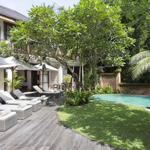 Villa Iskandar Bali - Seseh-Tanah Lot, Bali - Pool and Sun Deck