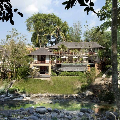 Villa Iskandar Bali - Seseh-Tanah Lot, Bali - Villa from River