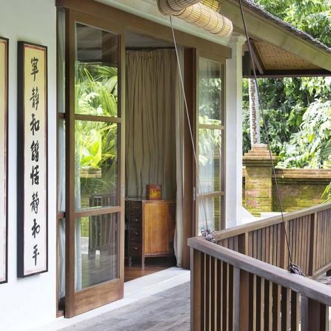 Villa Iskandar Bali - Seseh-Tanah Lot, Bali - Upstairs Terrace