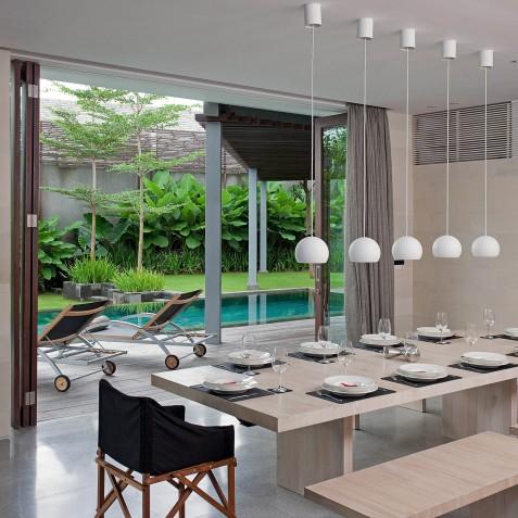 Villa Issi - Dining Table - Seminyak, Bali