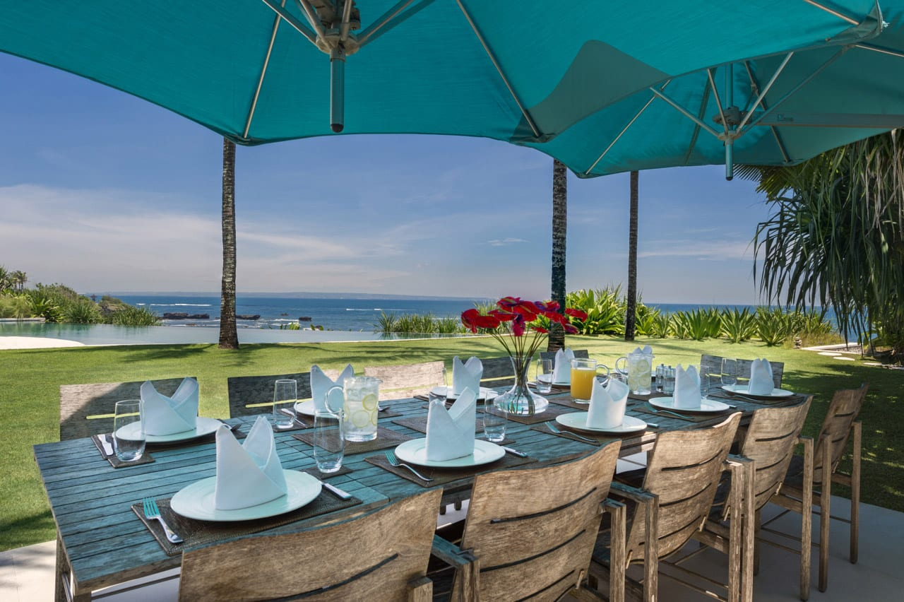 Villa Jagaditha Bali - Alfresco Dining - Canggu, Bali