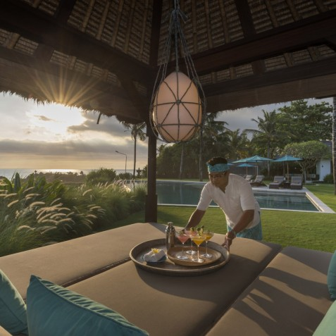 Villa Jagaditha Bali - Sunset Cocktails - Canggu, Bali