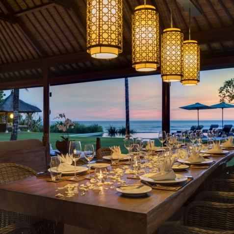 Villa Jagaditha Bali - Sunset Dining - Canggu, Bali
