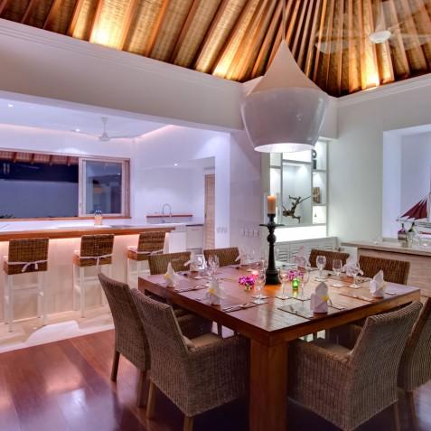 Villa Jajaliluna - Kitchen and Dining Area - Seminyak, Bali