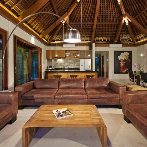 Villa Joss - Living Room - Seminyak, Bali