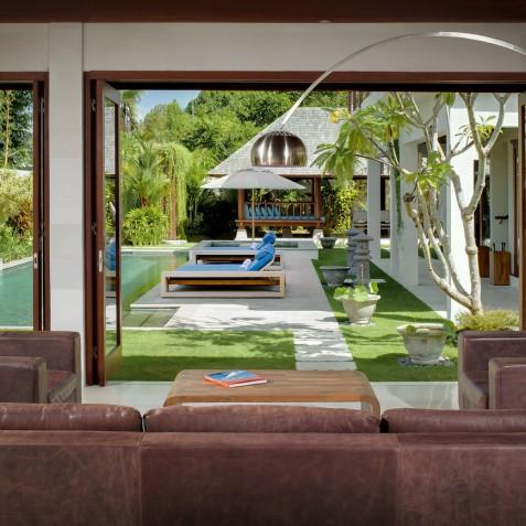 Villa Joss - Pool view from Living Room - Seminyak, Bali