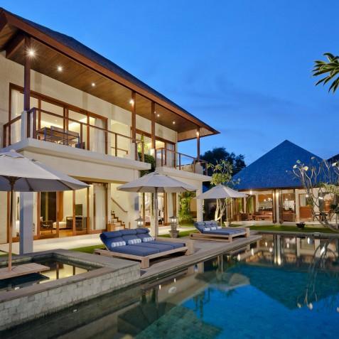 Villa Joss - Villa at Night - Seminyak, Bali