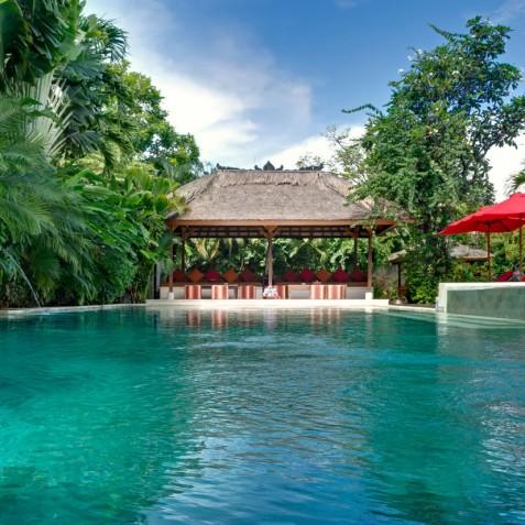 Villa Kalimaya I - Pool Lounge Pavilion - Seminyak, Bali