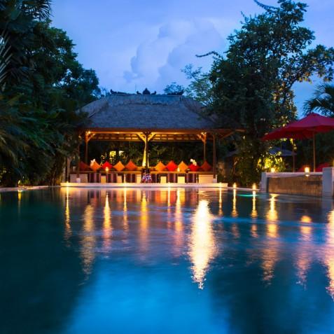 Villa Kalimaya I - Pool and Lounge Pavilion - Seminyak, Bali