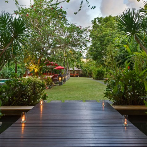 Villa Kalimaya I - View from Living Room - Seminyak, Bali
