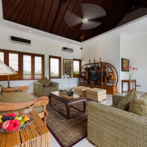 Villa Kalimaya II - First Floor Living Area - Seminyak, Bali
